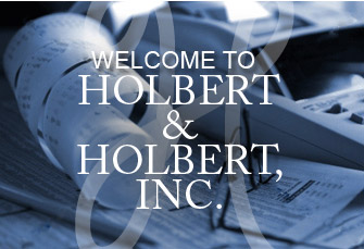 Welcome to Holbert & Holbert, Inc.